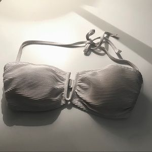 White Old Navy Bikini Top